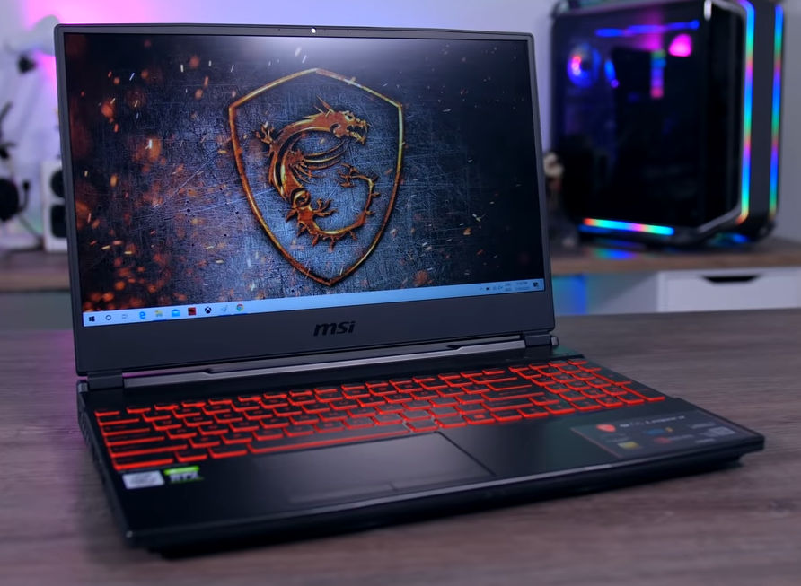 MSI GL65 Leopard Gaming Laptop