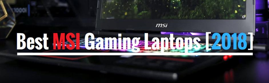 Best MSI laptops