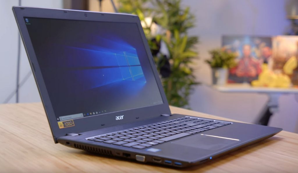 Acer 5 Slim Laptop on a table