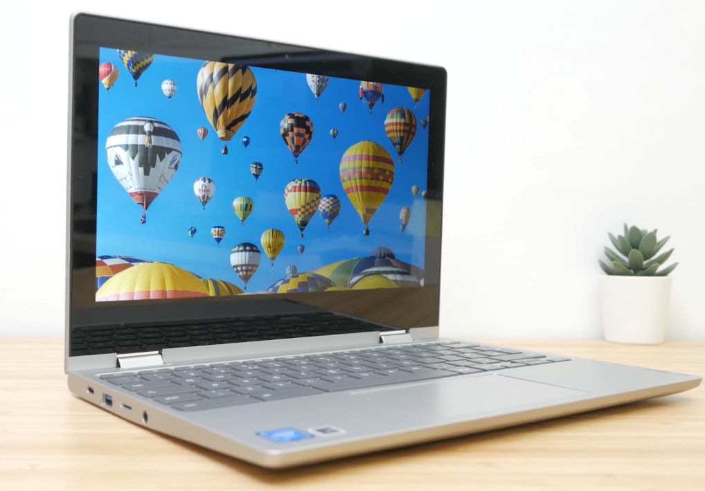 The Lenovo Chromebook C340 model