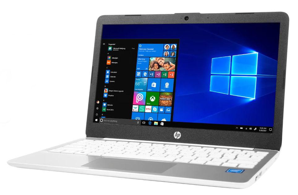 The HP stream 11 notebook