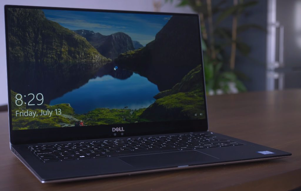 Dell XPS 13 on a desk