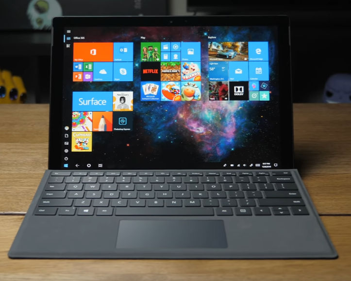 The Surface Pro 6 from Microsoft