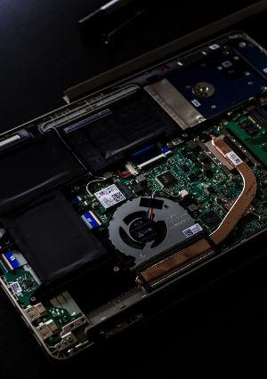 A sata hard drive
